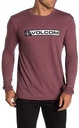 Volcom Tabber Logo Long Sleeve T-Shirt