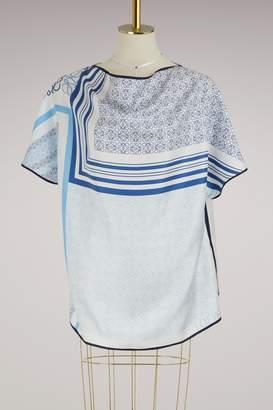 Loewe Anagram scarf-top