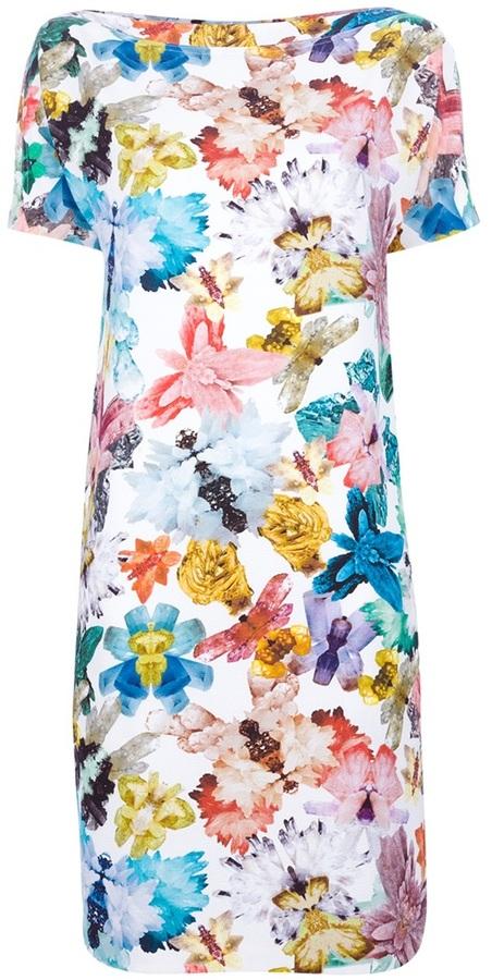 Cacharel butterfly print dress