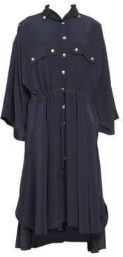 Chloé CDC Button Front Long Dress