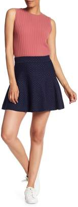 Club Monaco Bonnibel Knit Skater Skirt