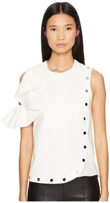 Sportmax Afro Cold Shoulder Top