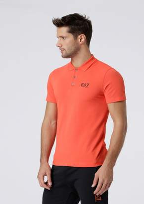 c32a0664b2 Emporio Armani Orange Men's Polos - ShopStyle