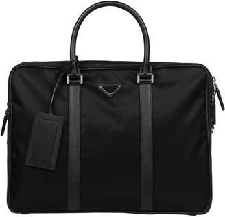 Prada Double Zip Briefcase