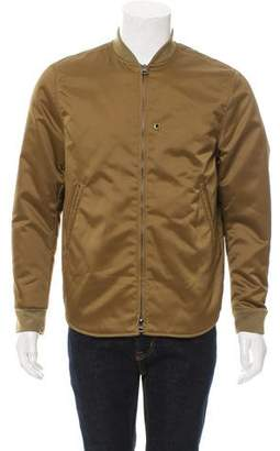 Acne Studios Mylon Matt Bomber Jacket