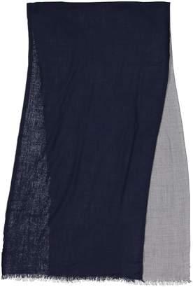 Christian Dior Navy Wool Scarves & pocket squares