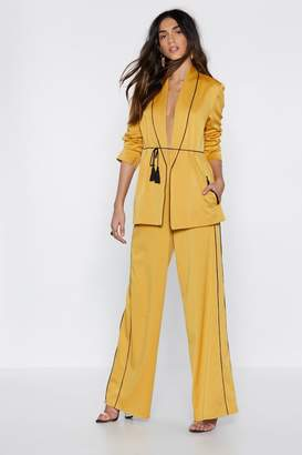 Nasty Gal Like a Boss Suit Pants