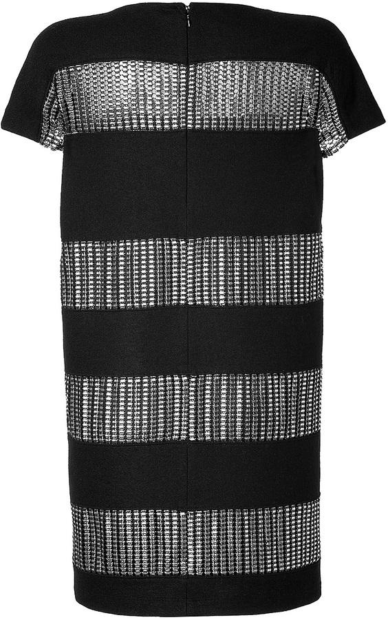 Paco Rabanne Wool Dress in Black