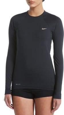 Nike Swim Long Sleeve Hydroguard Swim Top