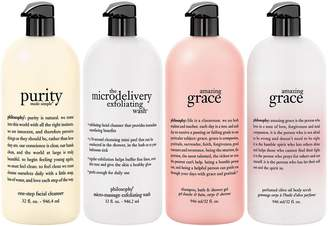 philosophy super-size purity & grace 4 pc collection