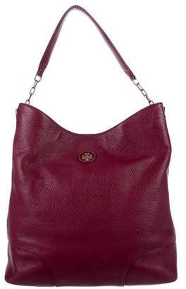 Tory Burch Logo Whipstitch Hobo
