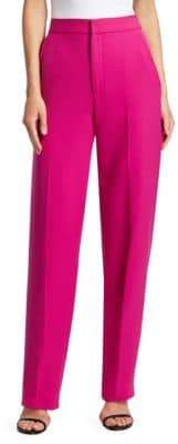 Prabal Gurung Stretch Crepe Boyfriend Trousers