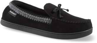 Isotoner Men's Seth Microsuede Moccasin Slippers