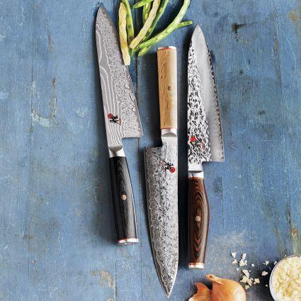 Miyabi birchwood collection sur la table - Miyabi Birchwood Chef S Knives 300 Thestylecure Com