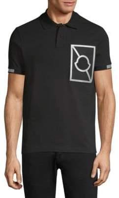 Moncler Reflective Logo Polo