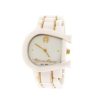 Aigner White Ceramic Watches