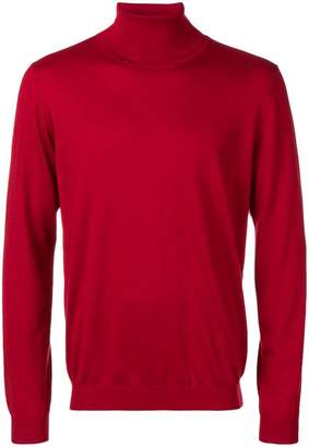 Laneus cashmere turtleneck top