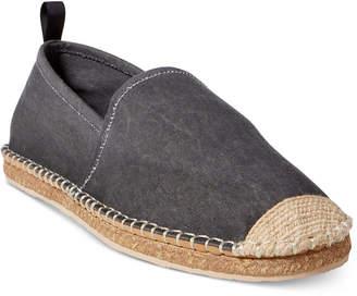 Polo Ralph Lauren Men's Barron Washed Twill Espadrilles Men's Shoes