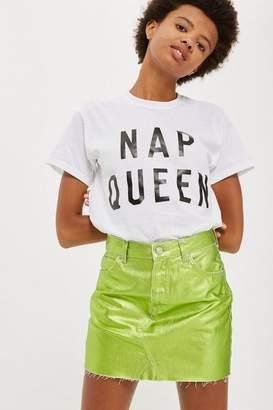 Love **'Nap Queen' Slogan T-Shirt