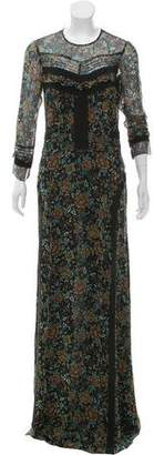 Veronica Beard Silk Maxi Dress