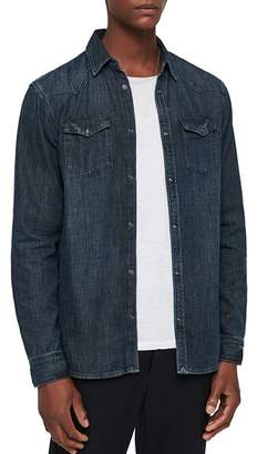 AllSaints Painter Denim Button-Down Shirt
