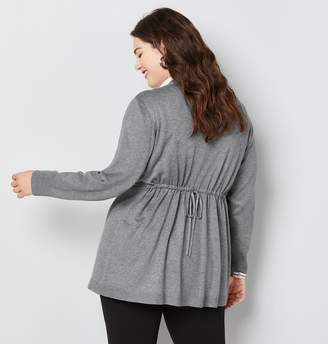 Avenue Cardigan with Back Drawstring
