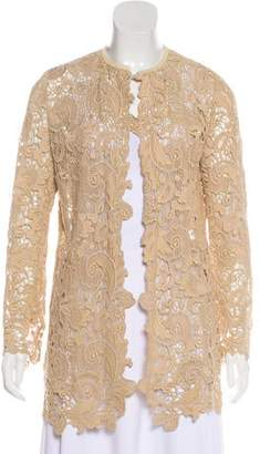 Ralph Lauren Black Label Crochet Lace Jacket