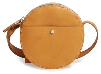 Madewell Marfa Leather Crossbody Bag - Brown $118 thestylecure.com
