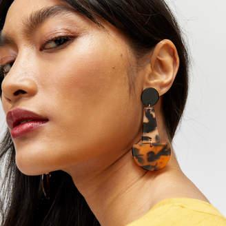 Warehouse Tortoiseshell Drop Earring