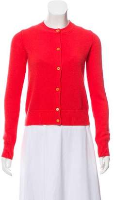 Prada Wool & Silk-Blend Cardigan