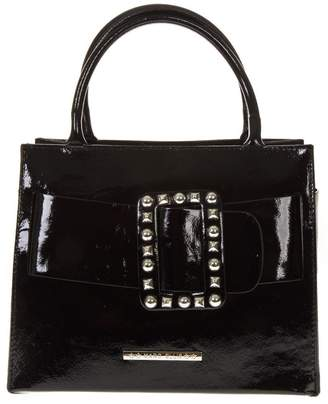 Marc Ellis Glory Black Patent Leather Bag