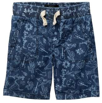 Lucky Brand Pull-On Printed Shorts (Toddler Boys)