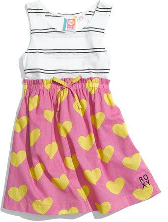 Roxy 'Trickster' Dress (Toddler)