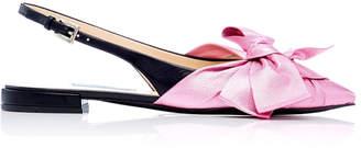 Prada Exclusive: Ballerina Slingback Flats