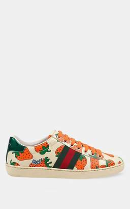 c5204a2b8 Gucci Women's New Ace Leather Sneakers