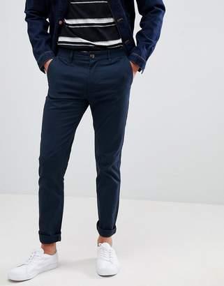 a6996608 Burton Menswear skinny fit chinos in navy