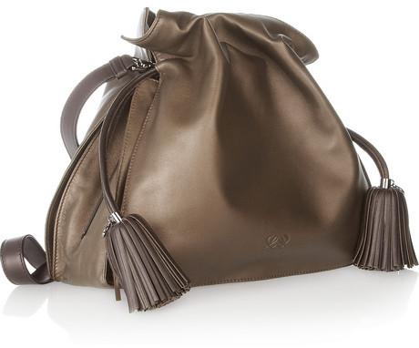 Loewe Flamenco 30 leather shoulder bag