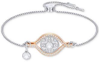 Swarovski Two-Tone Crystal Sun Slider Bracelet