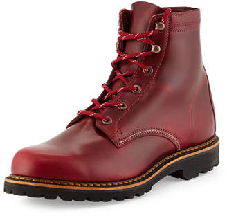 Wolverine Duvall 1000 Mile Boot, Dark Red $375 thestylecure.com