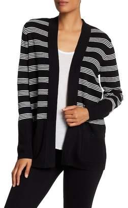 Anne Klein Malibu Striped Cardigan