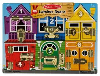 Melissa & Doug Wooden Latches Board Educational Game