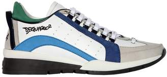 DSQUARED2 551 High Leather Sneakers