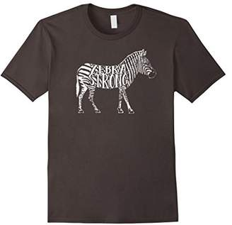 Zebra Strong - Ehlers Danlos Syndrome EDS Awareness T-shirt
