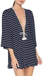 Robin Piccone Ava Stripe Cover-Up Tunic