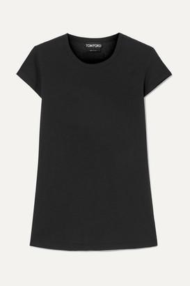 Tom Ford (トム フォード) - TOM FORD - Cotton-jersey T-shirt - Black