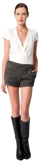 Derek Lam Tweed Shorts