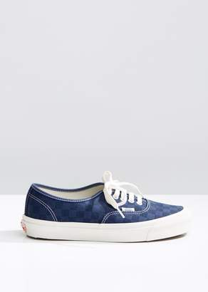 Vans Unisex OG Authentic LX Checkerboard Sneakers