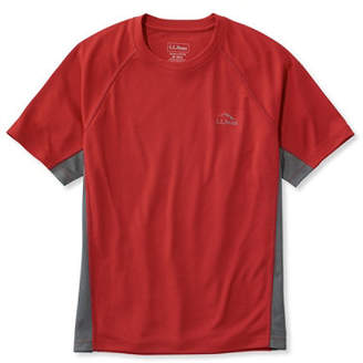 L.L. Bean (エルエルビーン) - リッジ・ランナーTシャツ、半袖 カラーブロック