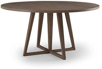 Palmer Round Dining Table - Driftwood - Brownstone Furniture