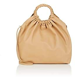The Row Women's Double-Circle Leather Extra-Large Bag - Beige, Tan
